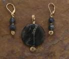 Kambaba Jasper & Seaweed Stone Set {No. 29}
