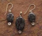 Black Labradorite Set {No. 31}