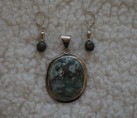 """Turquoise & Sterling """"Southern Belle"""" Set {No. 34}"""