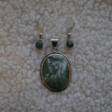 """Turquoise & Sterling """"Southern Belle"""" Set {No. 35}"""