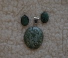 """Turquoise & Sterling """"Southern Belle"""" Set {No. 36}"""