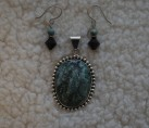 """Turquoise & Sterling """"Southern Belle"""" Set {No. 37}"""