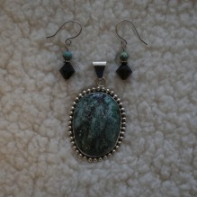 "Turquoise & Sterling ""Southern Belle"" Set {No. 37}"