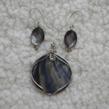 Abalone Mother of Pearl Set {No. 45}
