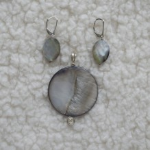 Abalone Mother of Pearl Set {No. 48}