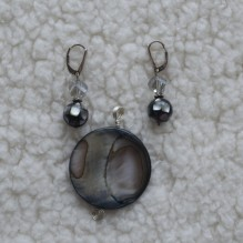 Abalone Mother of Pearl Set {No. 49}