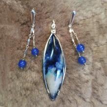 Blue Chrysocolla {No. 61}