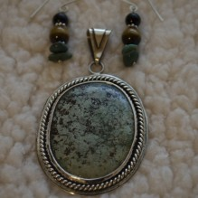 """Turquoise & Sterling """"Southern Belle"""" Set {No. 83}"""