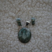 """Turquoise & Sterling """"Southern Belle"""" Set {No. 84}"""